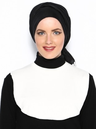 Collar White - Ecru - Busra Anil