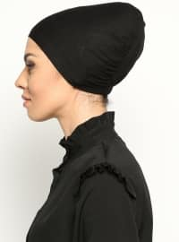 Bonnet without Tie - Black - Busra Anil