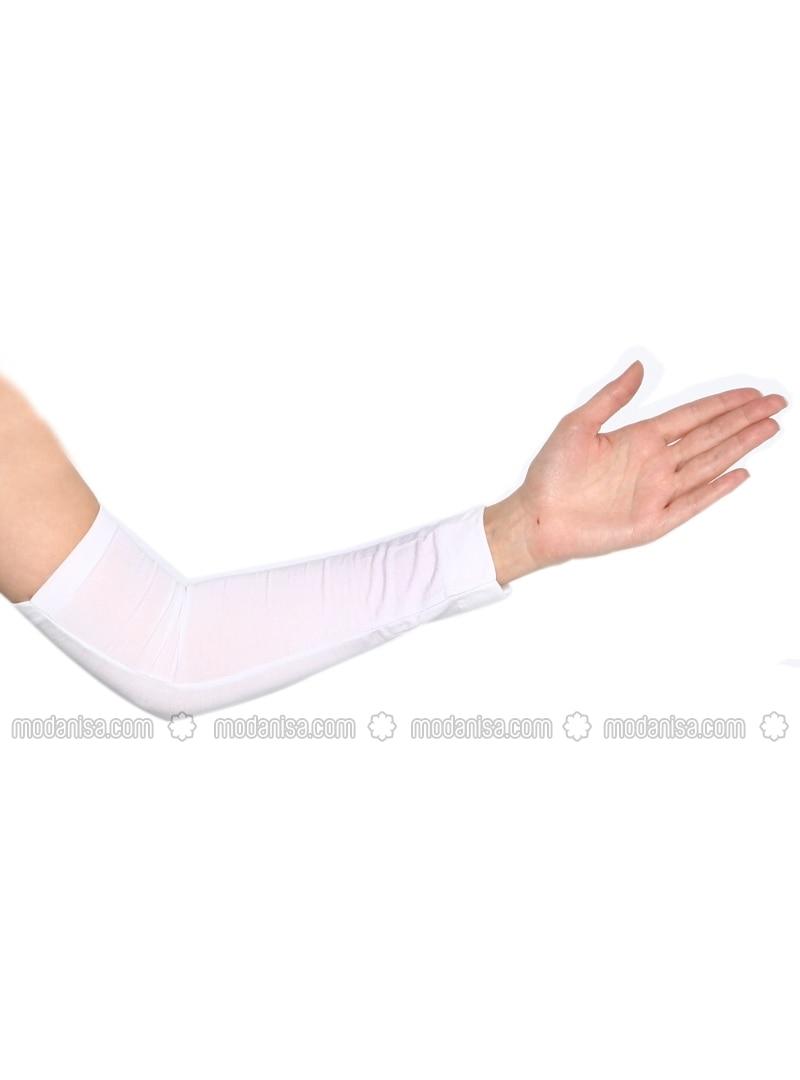 Arm Wear - White - Busra Anil