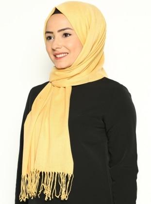 Paşmina Şal - Sarı