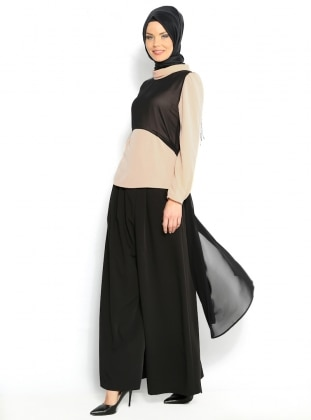 Chiffon Tunic - Powder - Puane 107323