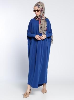 Klasik Elbise - Saks