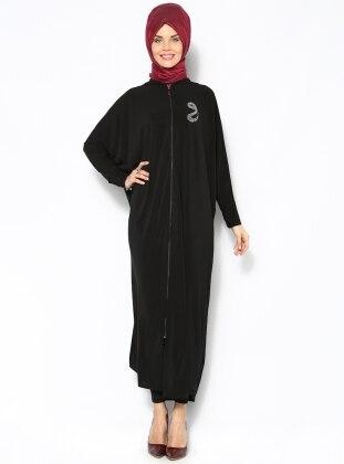 Yarasa Kollu Ferace- Siyah Mervin