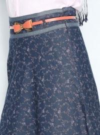 Maulana jeans skirt - Navy Blue