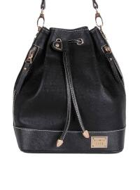 Çanta - Siyah - Silver Polo
