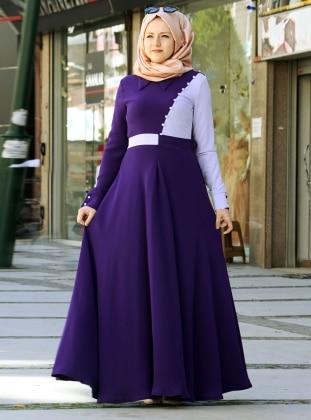 Arya Elbise - Mor/Lila