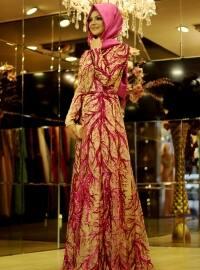 Evening Dress - Purple