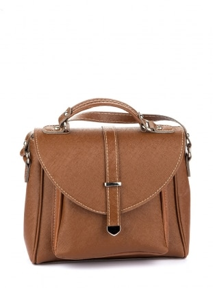 Tan - Clutch - Satchel - Shoulder Bags