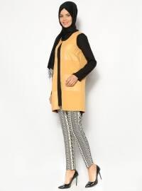 Missmira Kilim Desen Pantolon - Siyah - Missmira