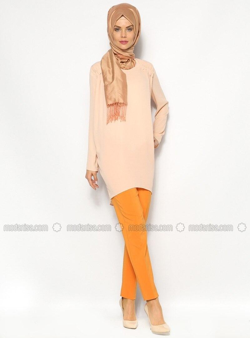 Skinny Trousers - Orange