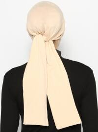 Beige - Instant Scarf