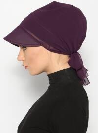 Purple - Instant Scarf