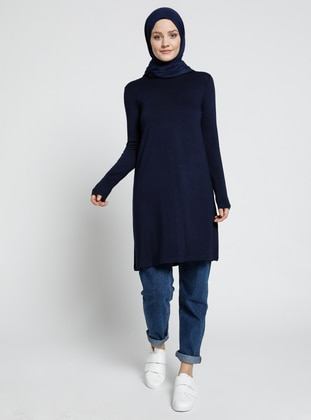 Basic Tunic - Navy Blue