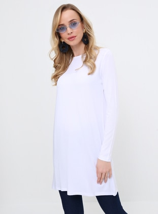 Basic Tunic - White - Everyday Basic