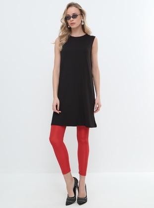 sleeveless Tunic - Black