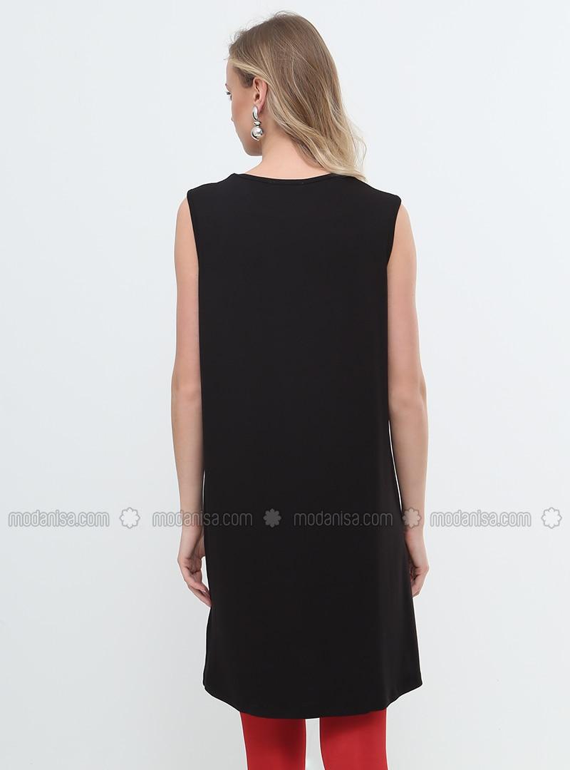 sleeveless Tunic - Black 946673e44