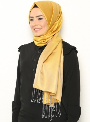 Double Sided Scarf – Yellow – Vavel