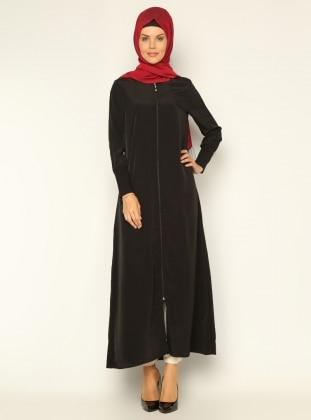 Basic Abaya - Black - ModaNaz 138483