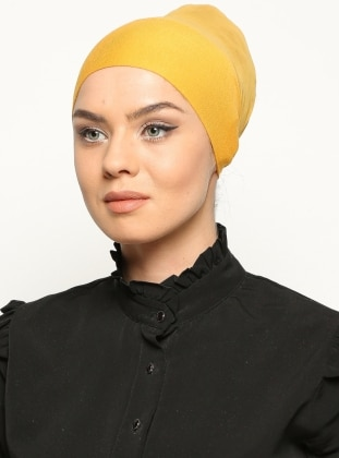 Yellow - Lace up - Bonnet