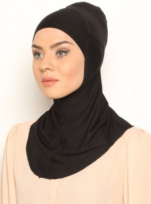 Black - Simple - Bonnet