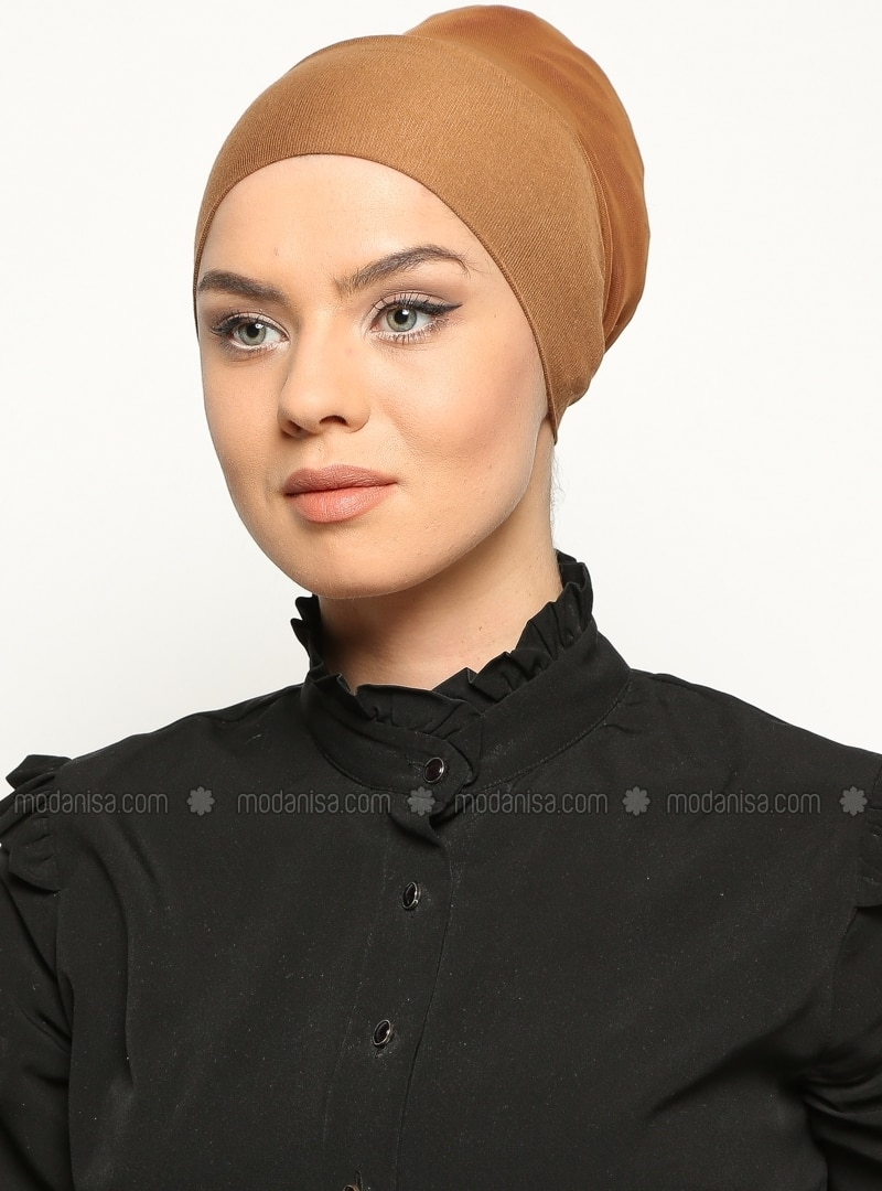 Camel - Lace up - Bonnet