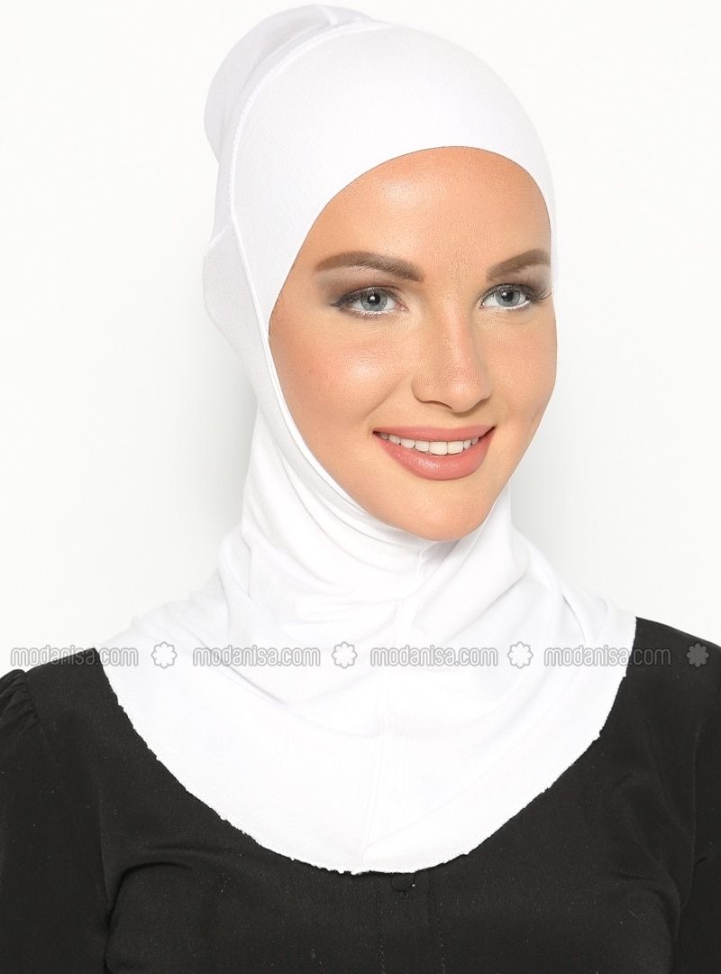 White - Simple - Bonnet