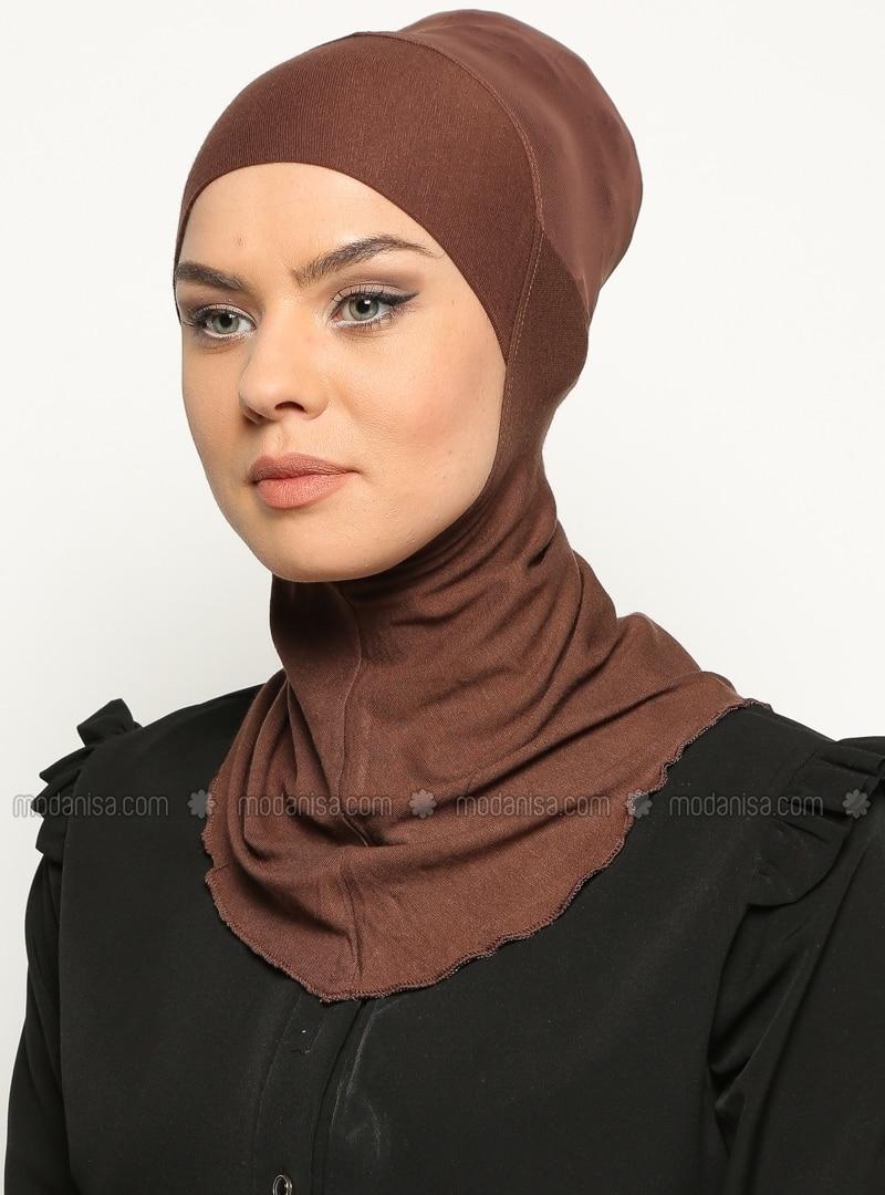 Brown - Simple - Bonnet