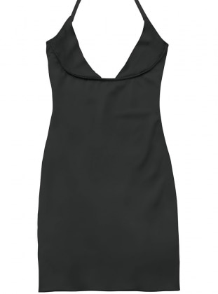 Korse Elbise - Siyah