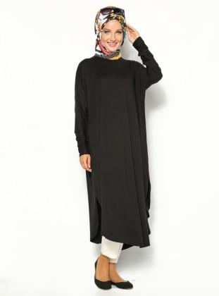 Eflatun Salaş Tunik-Siyah
