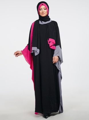 Abaya - Black - Ferrace By