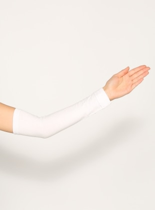 White - Sleeve Cover - Ecardin