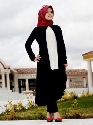 Sema Şimşek Sahra Tunik - Siyah