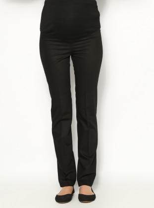 Klasik Hamile Pantolon - Siyah - Havva Ana