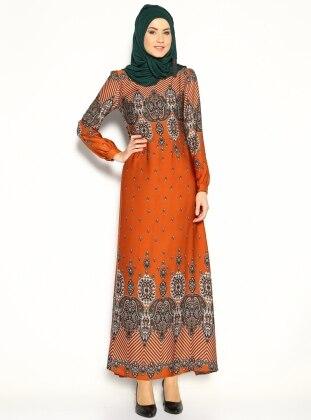 Sahra Dress - Saffron - Ulviye Portakal