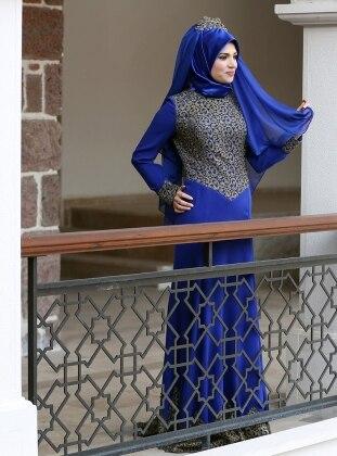 Sare Abiye Elbise - Saks Zehrace