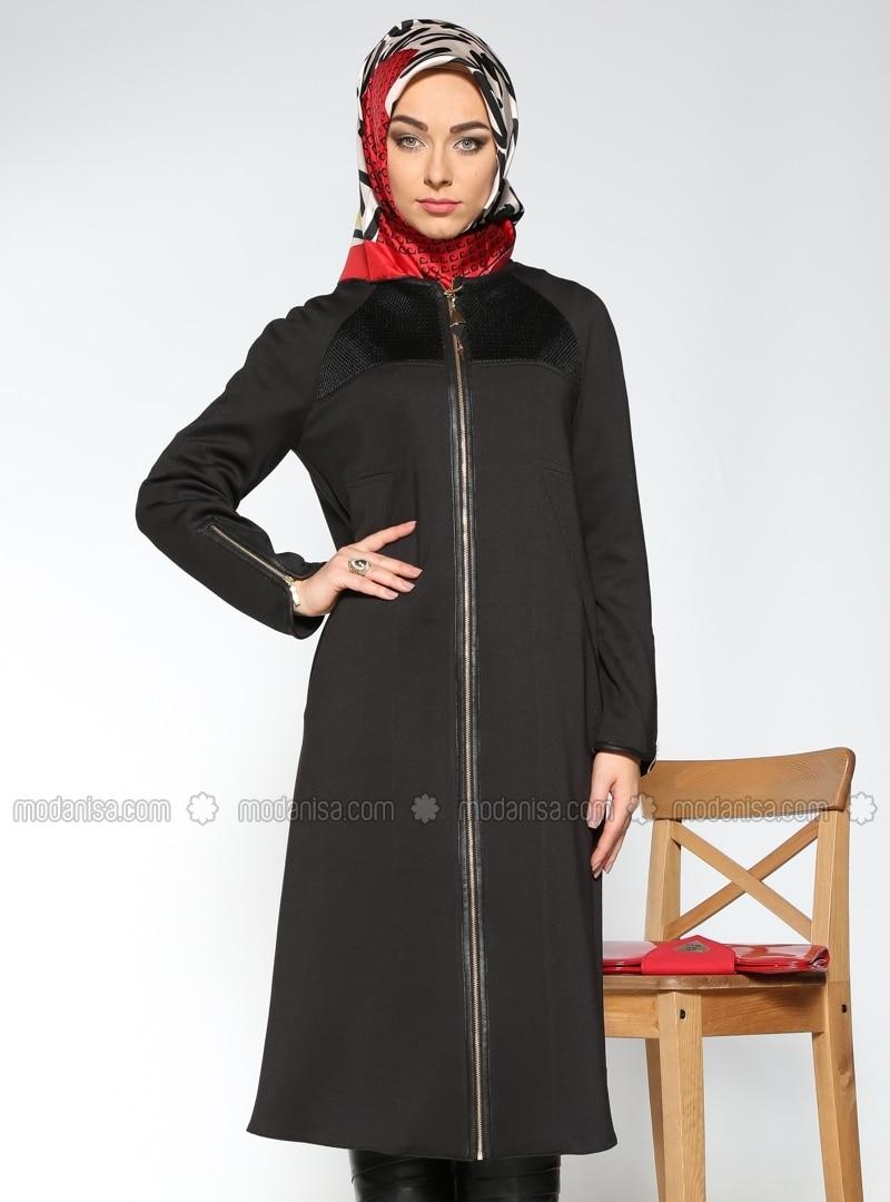 cape mantel pardes mantel schwarz nihan. Black Bedroom Furniture Sets. Home Design Ideas