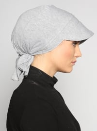 Gray - Instant Scarf