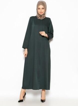 Patlı Ferace - Yeşil - Modanaz ModaNaz