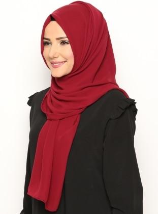 Alya Shawl - Maroon -  Esarp