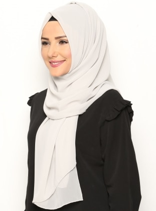 Alya Shawl - Stone - Argite Esarp