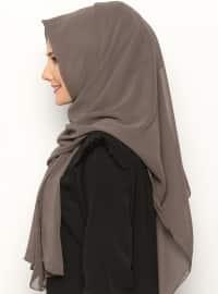 Alya Shawl - Brown -  Esarp