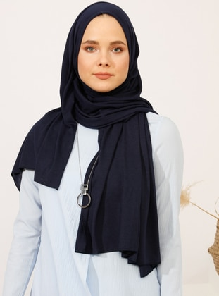 COOLMAX® Shawl - Navy Blue