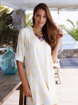 PENYE MOOD Elbise - Sarı