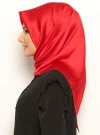 Royal Silk Scarf - Red - Misirli