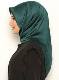 Royal Silk Scarf - Green - Misirli