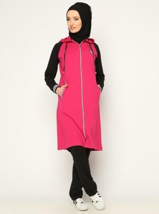 Black - Pink - Tracksuit Set