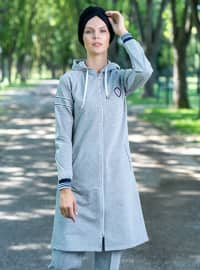 Gray - Tracksuit Set