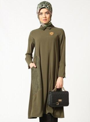 Pocket Tunic - Green - Puane 172138