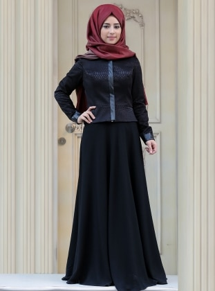 Ceket - Siyah Zehrace