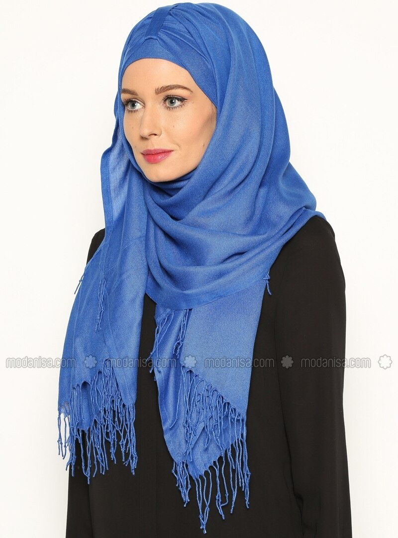 Pashmina Belted Semi-Instant Headwear - Parliament